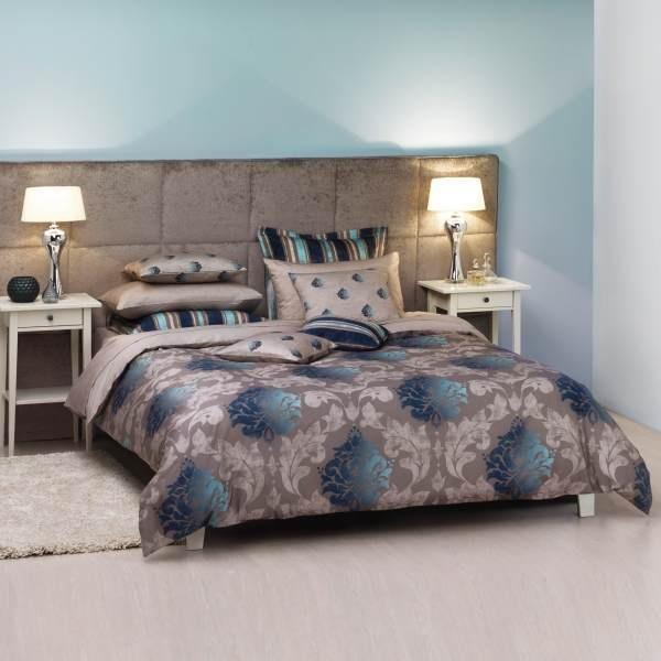 Ddecor - Aristrocracy Large Bed Sheet Set-Blue