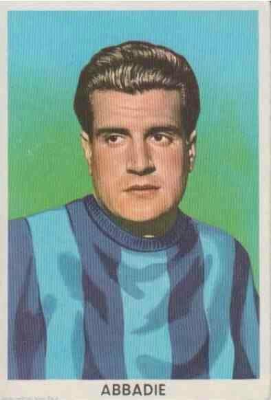 Julio Abbadie of Lecco & Uruguay in 1960.