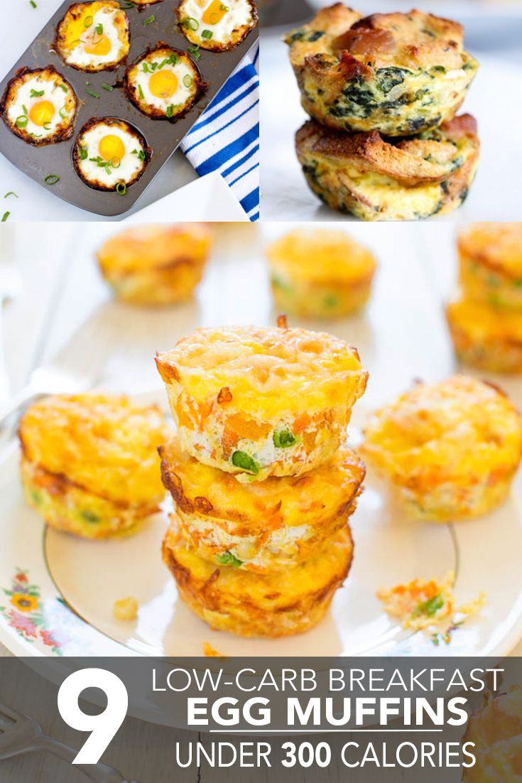 9 Low-Carb Breakfast Egg Muffins Under 300 Calories