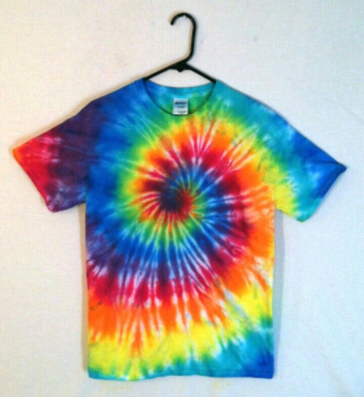 BrightNcolourful tie dye T-shirt  // #hippy#summer // xox