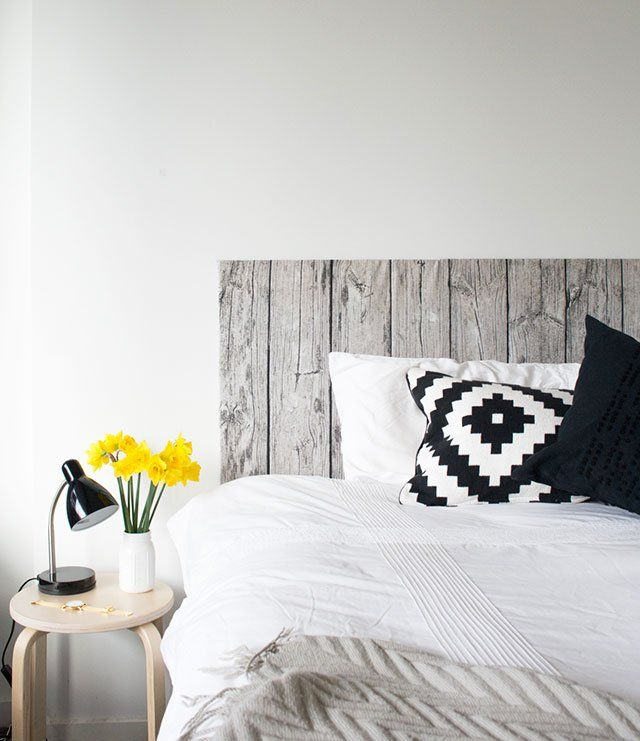 Check out the newest addition to my bedroom! All thanks to a trip to Ikea over the weekend where I spotted this fab new wood-look fabric. I've wanted a headboard for my room for ages now and have h...