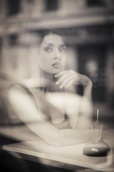 Beautiful reflections thru glass