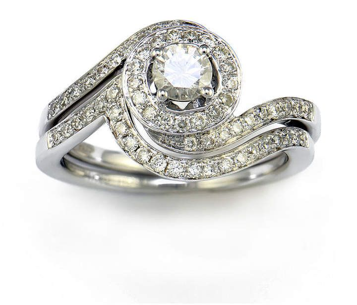 Fine Jewelry LIMITED QUANTITIES! 2 CT. T.W. Round White Diamond 14K Gold Engagement Ring j0NvSekAP7