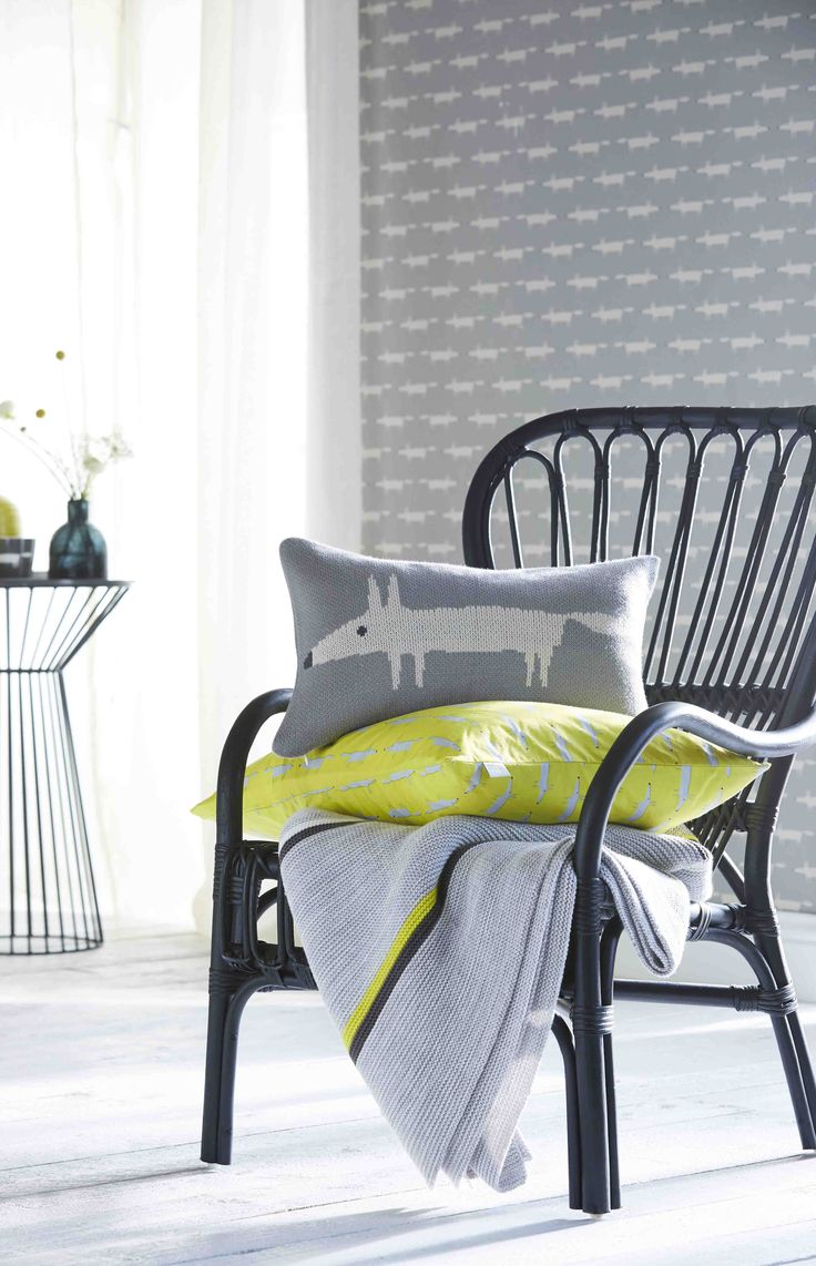 Guess Who? Kids Fabric and Wallpapers by Scion. Available at Workroom Couture Home.