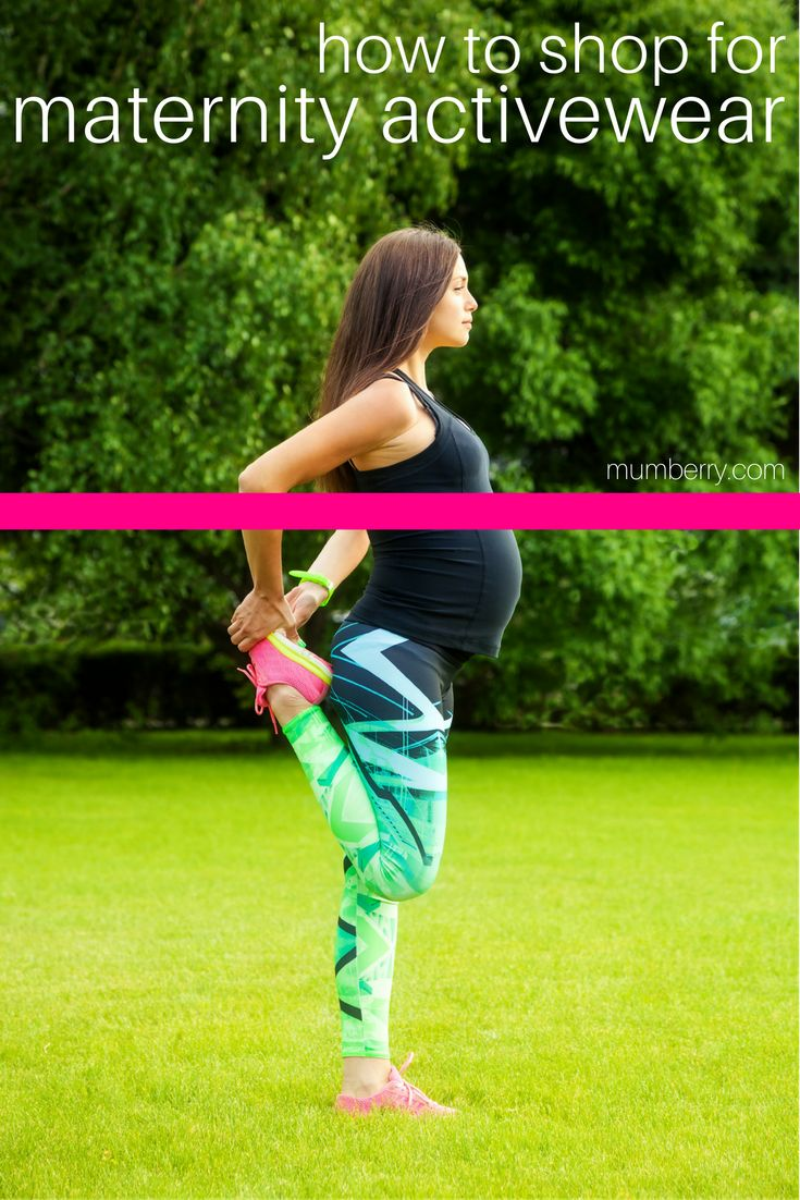 How to shop for supportive maternity activewear that helps you have a fit pregnancy