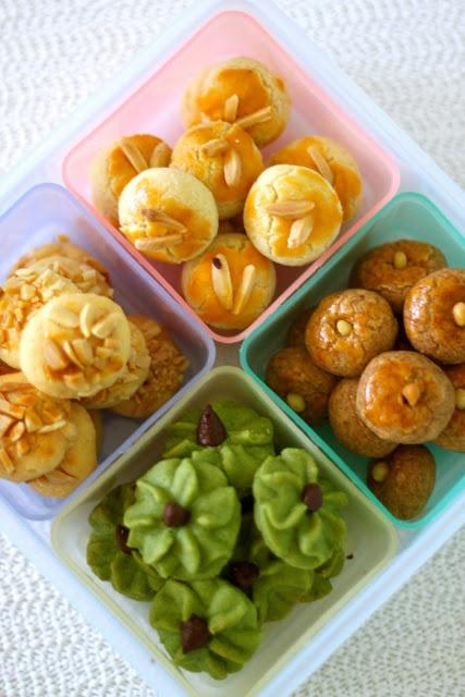 Jane's Corner: CNY Cookies (4 types)