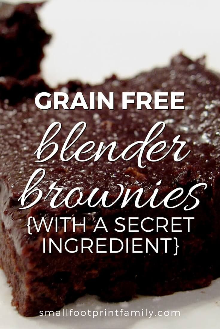 This souped up, grain free, dairy free brownie recipe is made with beans, so it is low allergen, GAPS legal, nutritious and oh, so yummy! Click to get the recipe!  #glutenfree  #dessertrecipes #dairyfree  #vegetarian #grainfree #realfood #dessert