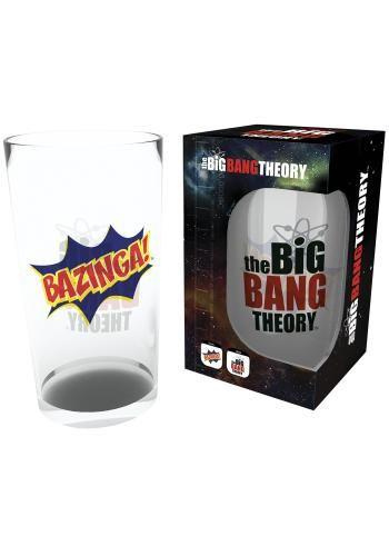 Bazinga - Pintglas van The Big Bang Theory