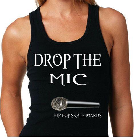 Drop The MIC Hip Hop SKATEBOARDS Fashion by HipHopSkateboards