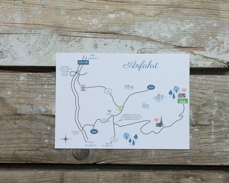 Ihr wollt, dass wir für Euch ganz persönlich eine Anfahrtsskizze zeichnen und auf Eure Karten drucken? Kein Problem! Legt zuerst Eure Wunsch-Karten in den Warenkorb. Dann kommt hierher zurück, gebt Euren Angaben und Wunschtext für die Skizze ein, bestimmt die Stückzahl (=1) und schreibt im Anmerkungsfeld auf welche Eurer Karten die Grafik kommt. Wir kennen uns dann schon aus und erstellen Euren ersten digitalen Probedruck gleich mit Skizze!