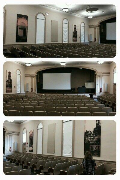 Inside Langdon Hall, built in 1846 - Auburn Universit Photos by CS Lent