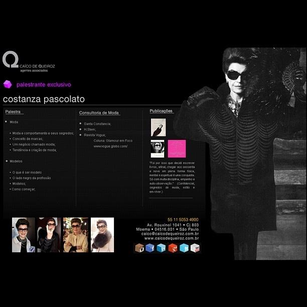 Costanza Pascolato - Exclusiva CQ