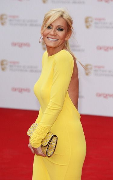Michelle Collins at the BAFTAs