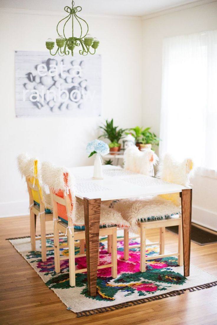 DIY mid-century inspired table | a beautiful mess