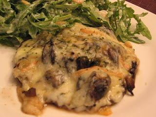 Gourmandises & Cie...: Portobellos farcis aux escargots et fromage à raclette