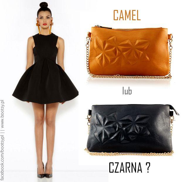 Którą wybrałybyście do małej czarnej? Klasyczną czerń czy ożywiający camel? #bootsypl #camelbag #camel #black #handbag #bag #chain #stylishgirl