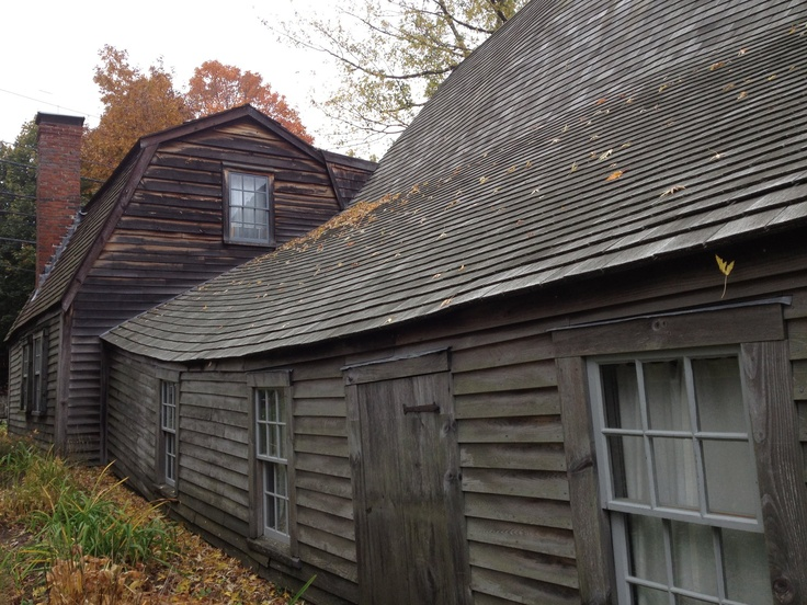 Fairbanks House, Dedham,Massachusetts c1637 (The oldest timbered framed house in the country)