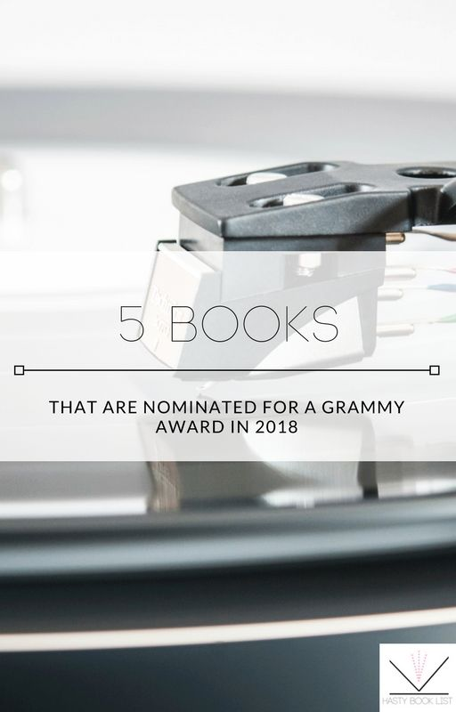 5 Books That Are Nominated for a Grammy Award in 2018 The Recording Academy / GRAMMYs air this Sunday at 7:30pm ET on CBS. The Grammy Award for Best Spoken Word Album is probably not why anyone tunes into the Grammys.
