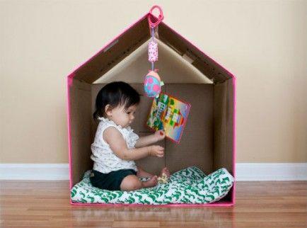 10 Fun Cardboard Play Structures