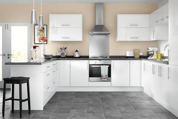 High Gloss Kitchens Orlando White High Gloss Kitchen Kitchen