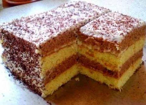 Торт «Сметанник» готовится очень просто, получается всегда, на вкус – мягкий и нежный. Одним словом, к чаю – то, что надо! Готовьте в удовольствие! Ингредиенты: 4 яйца 1,5 стакана сметаны 1,5 стака…