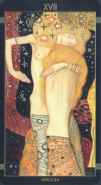 Golden Tarot de Klimt, L'Étoile