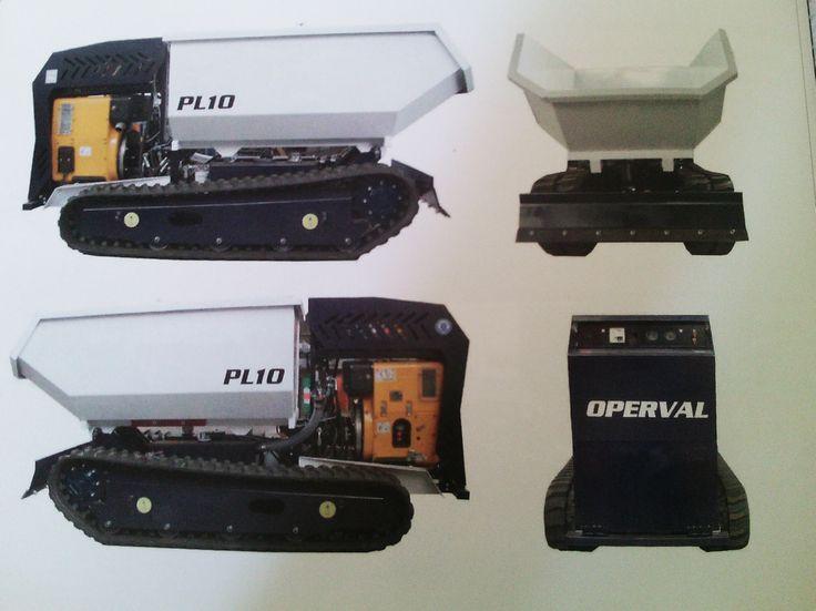 SOLO COMPONENTI DI QUALITA': Motore Hatz 1D81C•Pompe a portata variabile SM•Distributori HAWE•Componenti Oleodinamici Dunlop www.operval.com