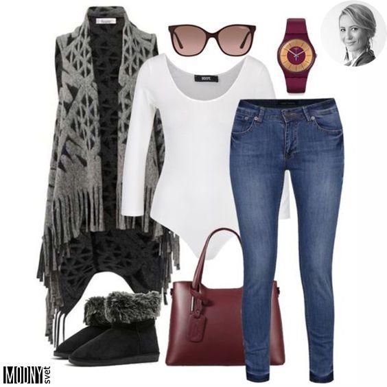 13a489a4bf22 Dnešný deň nám zakončí štýlový vestový outfit ❤ Hoďte na seba jednoduché  krémové body