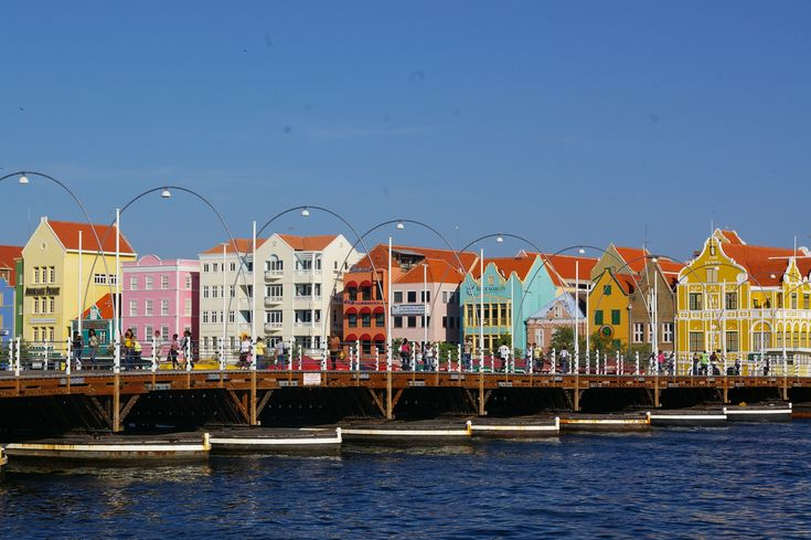 "Why we love Curacao? Because of our iconic ""Swinging Old Lady""! Vote for Curacao's Queen Emma Bridge as ""8th wonder of the world"". One vote per day is allowed and voting concludes on September 30th. So, vote, vote, vote, for our unique pontoon bridge please!"