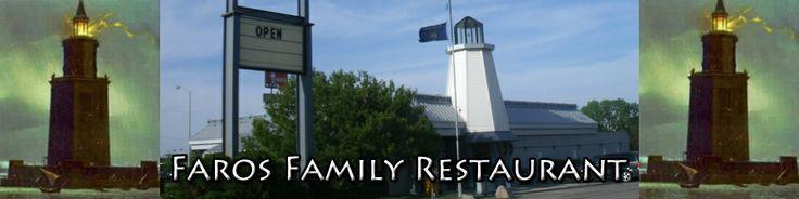 Faros Family Restaurant 131 N Pioneer Rd, Fond du Lac, WI 54935 (920) 922-3600