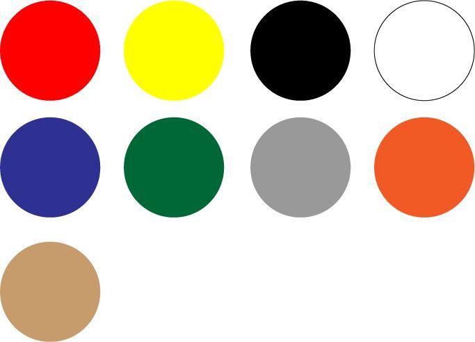 Paleta de colores de Tumbes