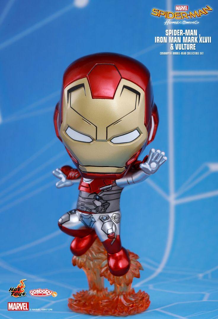 Kolekcjonerska figurka Iron Mana - Spiderman Homecoming