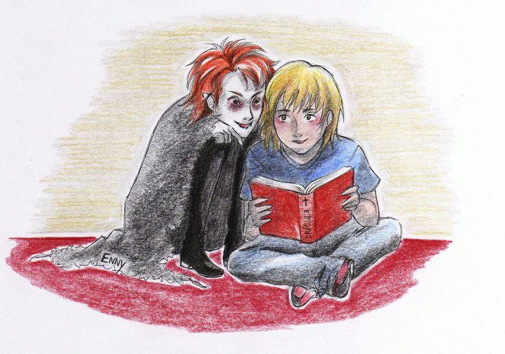 Der kleine vampir by EnnyLarok.deviantart.com on @DeviantArt