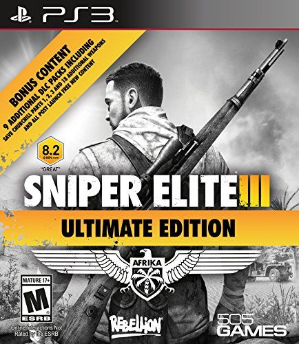 Sniper Elite III Ultimate Edition  PlayStation 3 *** Check out this great product. Note:It is Affiliate Link to Amazon.