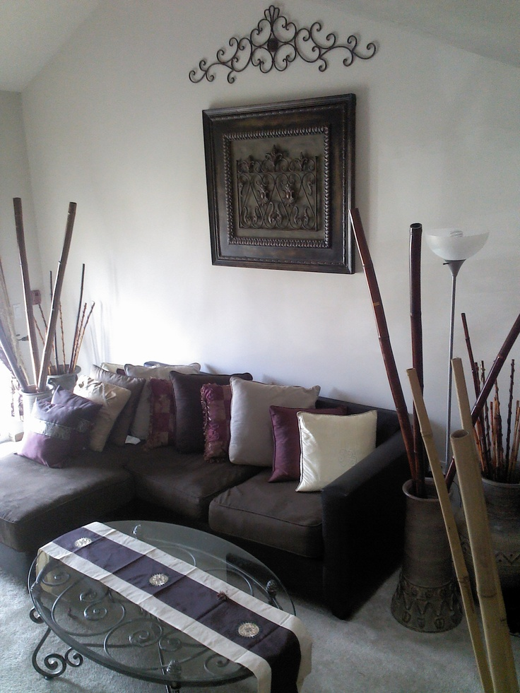 35 best images about wrought iron on pinterest iron for How to decorate bamboo sticks