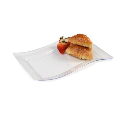 clear disposable salad plastic plates come in bulk cases buy in bulk and save coordinate these plates with our pretty napkins
