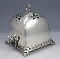 Tiffany Sterling Covered Toast Rack, circa 1900