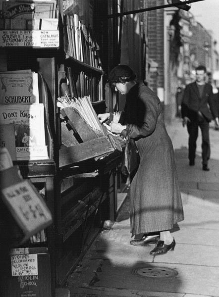 Charing Cross Road, London, 1937