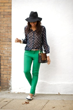 kelly green skinniesGreen Jeans, Colors Pants, Fashion, Polka Dots, Green Skinny, Colors Jeans, Street Style, Kelly Green, Green Pants