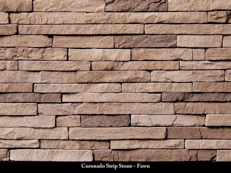 Coronado Strip Stone Veneer / Fawn