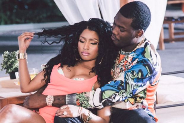 Nicki Minaj Sparks Pregnancy Rumors After Calling Meek Mill Her 'Baby Father'