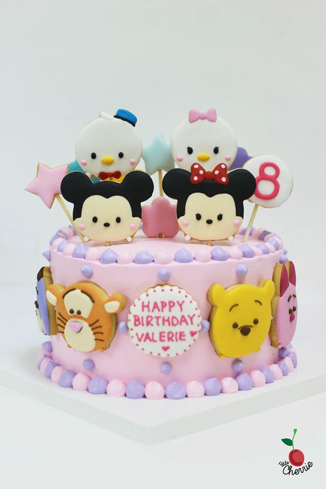Disney Tsum Tsum Cake Tsum Tsum Cookies