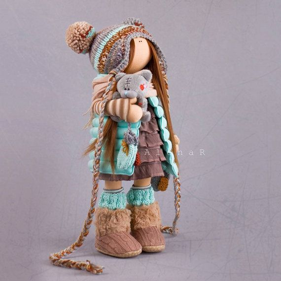 Tilda doll Collectable doll Fabric doll от AnnKirillartPlace