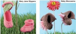 Mary Jane moccasins KNIT http://www.hasp.ca/patterns/booties/