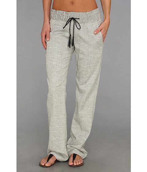 New Calvin Klein Linen Drawstring Beach Pants Womens
