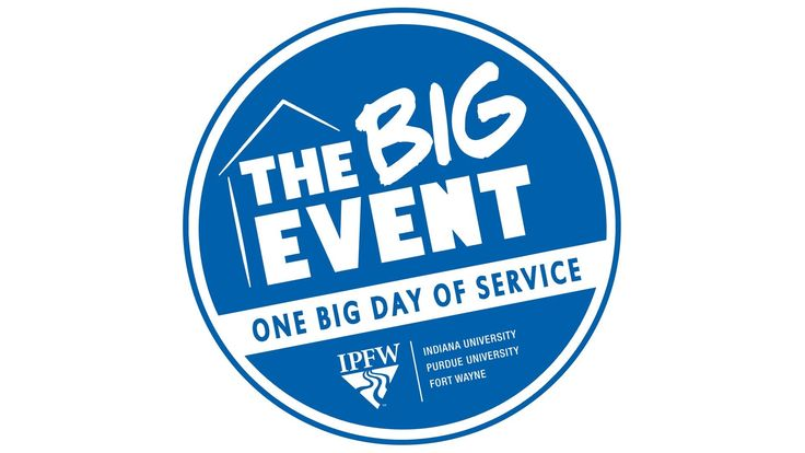 #IPFW joins over 80 universities throughout the country in #theBIGevent. One day. Making a difference in the community. #FortWayne #Indiana