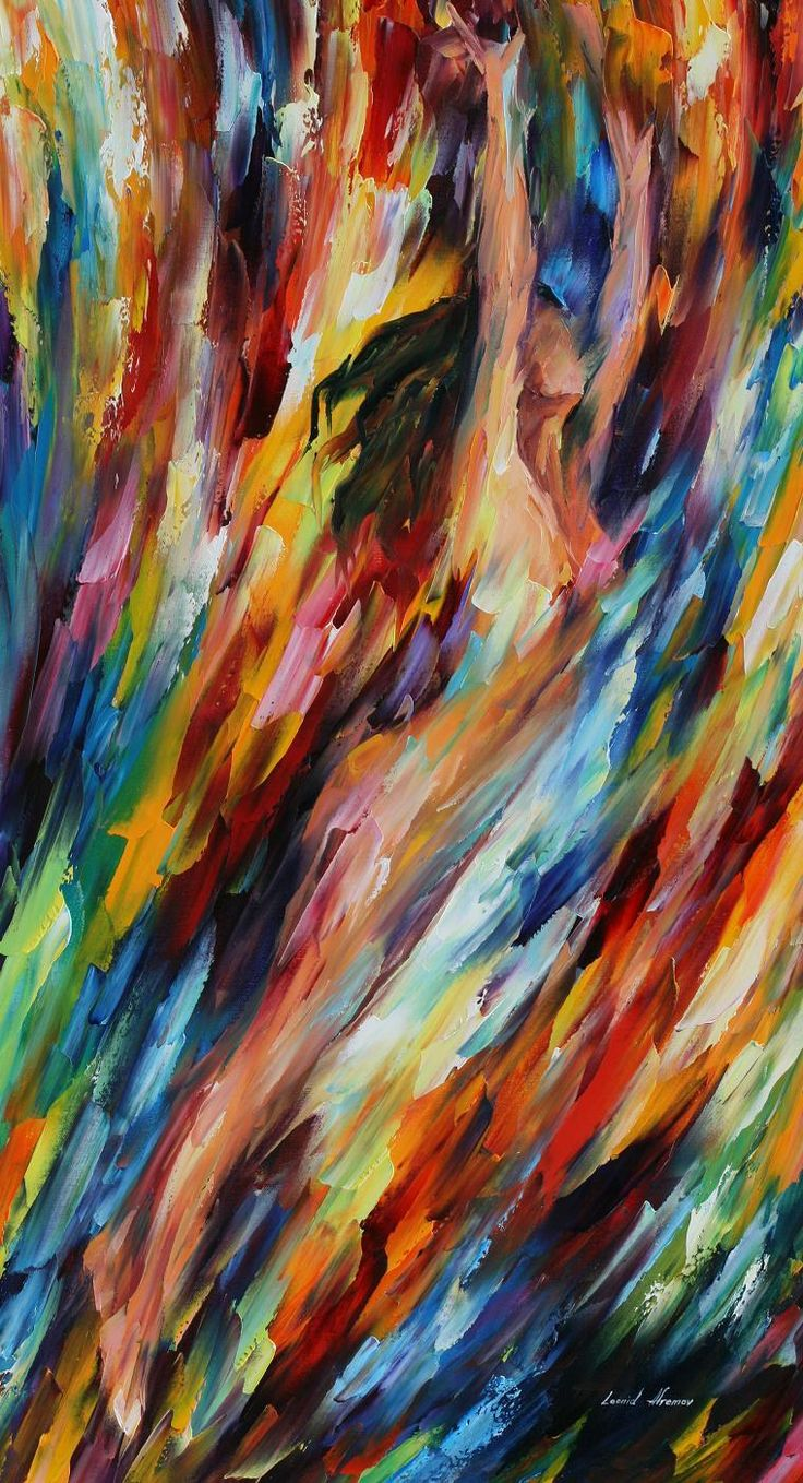 RIDING WAVES - LEONID AFREMOV by Leonidafremov.deviantart.com on @deviantART