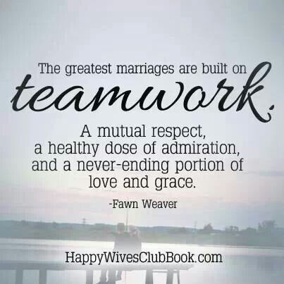 Team work is everything!!