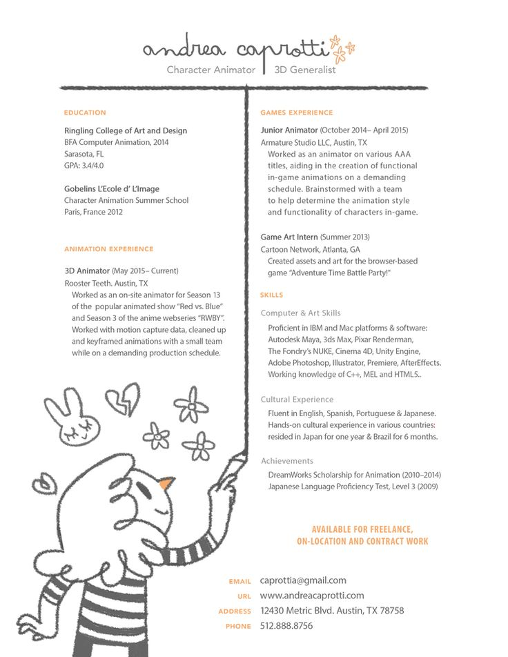 resume example purdue owl