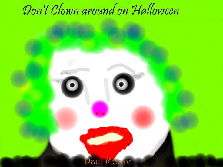Book Review: Don't clown around on Halloween by Paul Moore